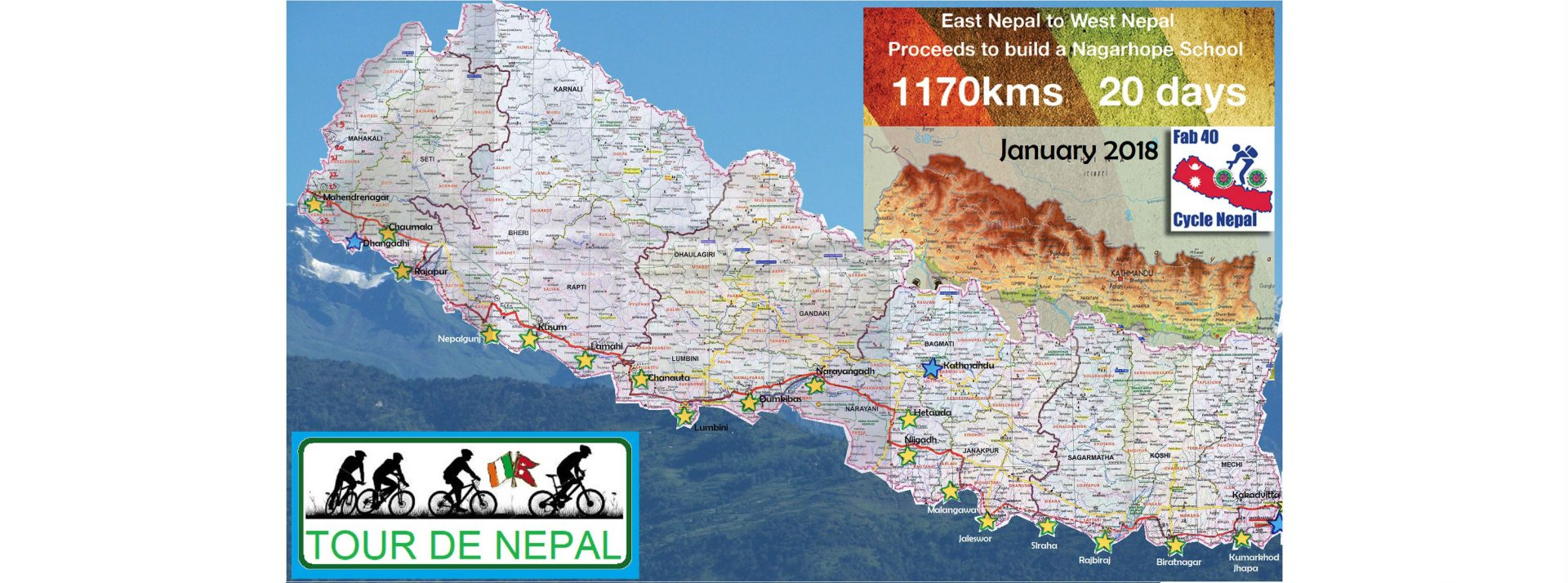 Fab 40 Cycle Nepal